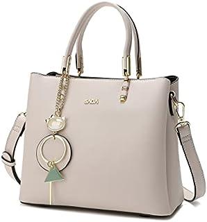 حقيبة نسائية بسيطة من SAGA مع ملحق متطور