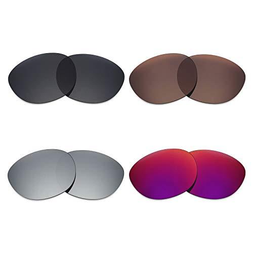 Mryok - 4 pares de lentes polarizadas de repuesto para gafas