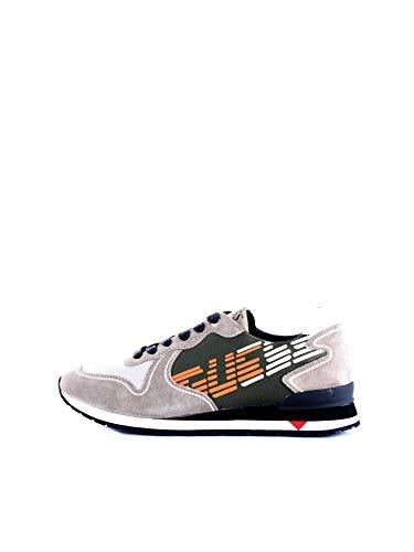 Guess FM7NGL Sneakers con Lacci in CAMOSCIO da Uomo