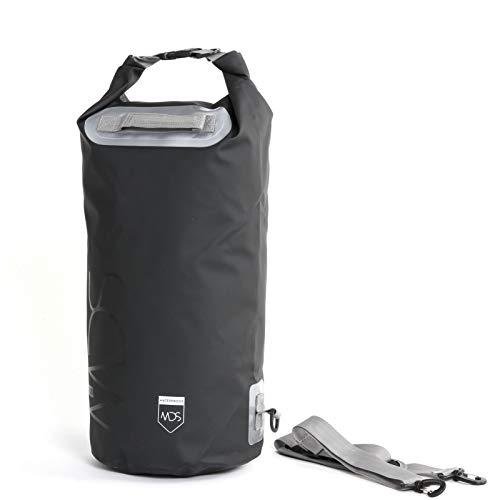 MDS wasserdichter Packsack 12 Liter Schwarz Tasche Bag Waterproof Staubdicht