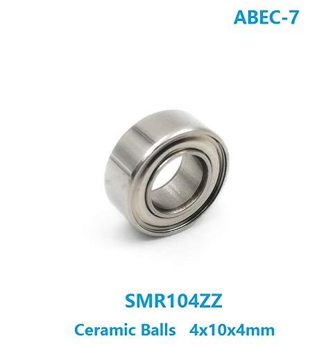 Ochoos 6pcs Max 53% OFF 10pcs SMR104ZZ SMR104 ABEC-7 S ZZ 4x10x4mm SEAL limited product Stainless