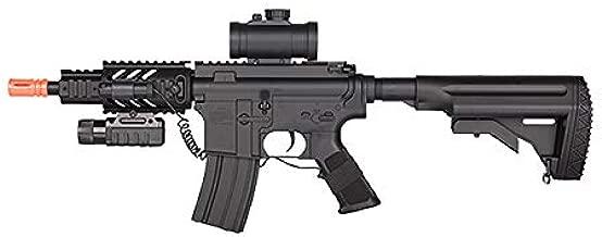 red dot Sight, Laser de 614 aeg Airsoft Full auto Rifle Electric air Gun, 315-fps hop up Combat Rifle Airsoft Gun(Airsoft Gun)