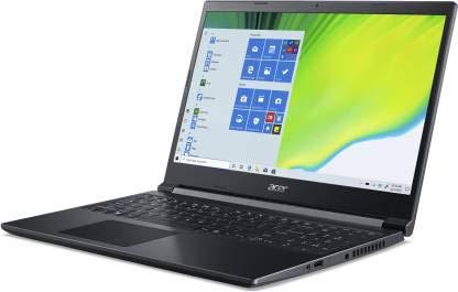Acer Aspire 7 Ryzen 5 Quad Core 3550H - (8 GB/512 GB SSD/Windows 10 Home/4 GB Graphics/NVIDIA Geforce GTX 1650/60 Hz) A715-41G-R6S8 Gaming Laptop (15.6 inch, Charcoal Black, 2.15 kg)
