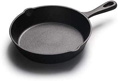 20cm Fonte Non Stick Marmite Mini poêlon en fonte Casseroles et poêles (Color : -)