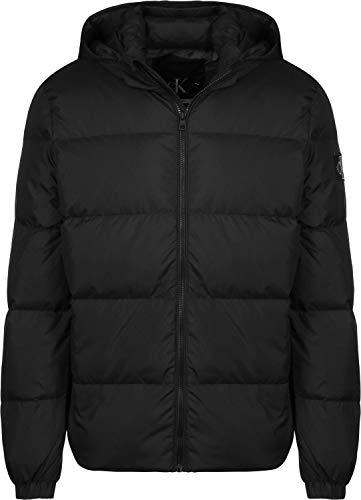 cappotto uomo calvin klein Calvin Klein Jeans Hooded Piumino ck black