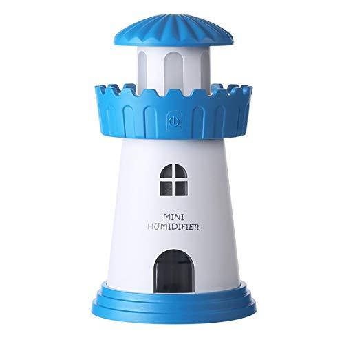 Ballylelly 150 ml Lampe Leuchtturm Luftbefeuchter USB Led Luftverteiler Luftreiniger Zerstäuber Turm Ätherisches öl diffusor für Zuhause diffusor de aroma