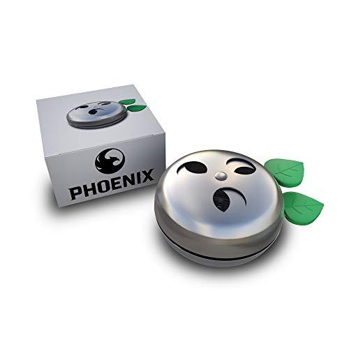 Phoenix - Gestor de Calor Cachimba, Shisha - Provost de Acero Inoxidable para carbones - Accesorio Apple Hookah Premium