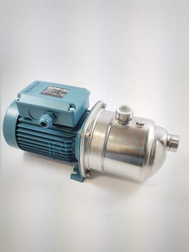 Elektrische Autoklavierpumpe NGXM 4/A 1 Hp, selbstansaugende Pumpe auch mit Luftzufuhr, geräuscharm, für Haushalt, Bewässerung, Garten, Waschen, Oberfläche, einphasig, 0,75 kW 220 V, Irrifarma