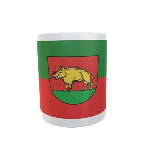 U24 Tasse Kaffeebecher Mug Cup Flagge Eberbach an der Fils