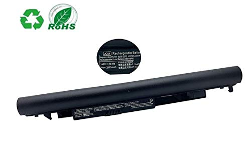 ZJS 14,8V 2600mAh JC03 JC04 Batería para HP 255 G6 250 G6 240 G6 245 G6 246 G6 Pavilion 15-BS000 15-BW000 17-BS000 HSTNN-DB8E HSTNN-L67N HSTNN-PB6Y Reemplace bateria