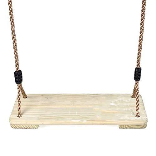Houten schommel boomschommel kinderschommel hout verstelbare zitting voor kinderen buiten plafond in de kinderkamer schommel binnen en buiten hangend kinderen