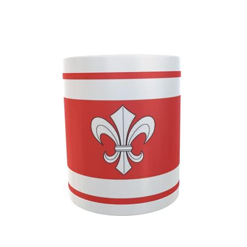U24 Tasse Kaffeebecher Mug Cup Flagge Ahnatal