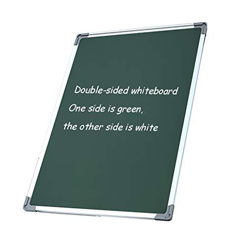 RENRUIRUI- Tableau Blanc Effaçable À Sec À Suspension Magnétique Double Face Avec Boîte À Stylo De Rangement Gomme for Tableau Blanc, for L'enseignement Au Bureau Et À La Maison ( Size : 62x92cm )
