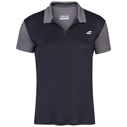 Babolat Play Polo Women, Mujer, Black/Black, L