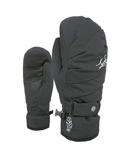 Level Damen Handschuhe Ultralite W Mitt, Black, 6