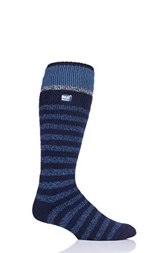 Heat Holders Mens 2.3 TOG Ski Socks Pack of 1 Navy 6-11