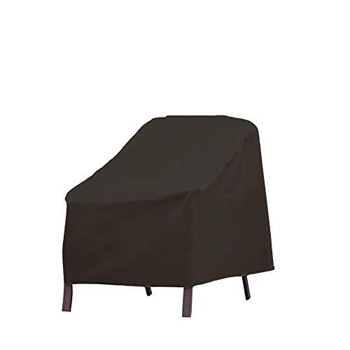 Schutzhülle für Gartenstühle, stapelbar, UV-Schutz, winddicht, wasserdicht, 210D-Oxford-Stoff, für Gartenstühle (1 Stück)