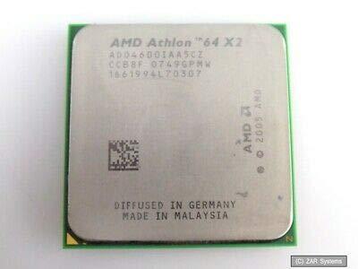AMD Athlon X2 4600+ 2.4 GHz 1 MB Cache Dual-Core CPU Processor Socket AM2