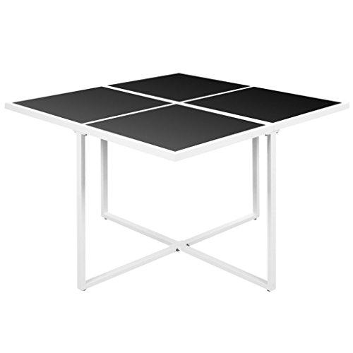 vidaXL Tuinset Aluminium 9-delig Tuinmeubilair Loungeset Meubelset Tuin Set