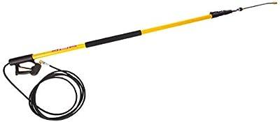 B E PRESSURE 85.206.424L Telescoping Wand, 4-Stage, 24' Length, 4000 psi, 200 Degree F, 8.0 GPM, Black/Yellow