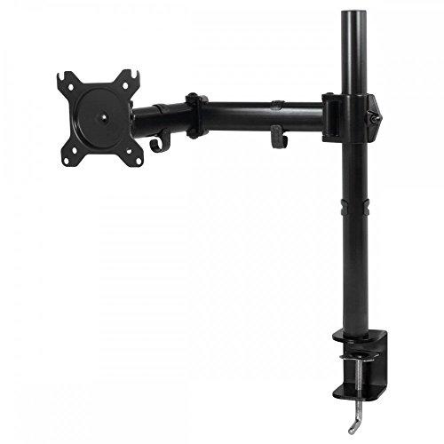"""ARCTIC Z1 Basic - Brazo para monitor, soporte para escritorio, hasta 34""""/38"""" Ultra-ancho, giratorio 360°, inclinable 180°, ergonómico, con manejo de cables, VESA 75x75/100x100 - Negro"""