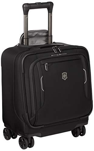 Victorinox Werks Traveler 6.0 reistas met 4 rollen - handbagage trolley 23x35x43 Unisex - zwart