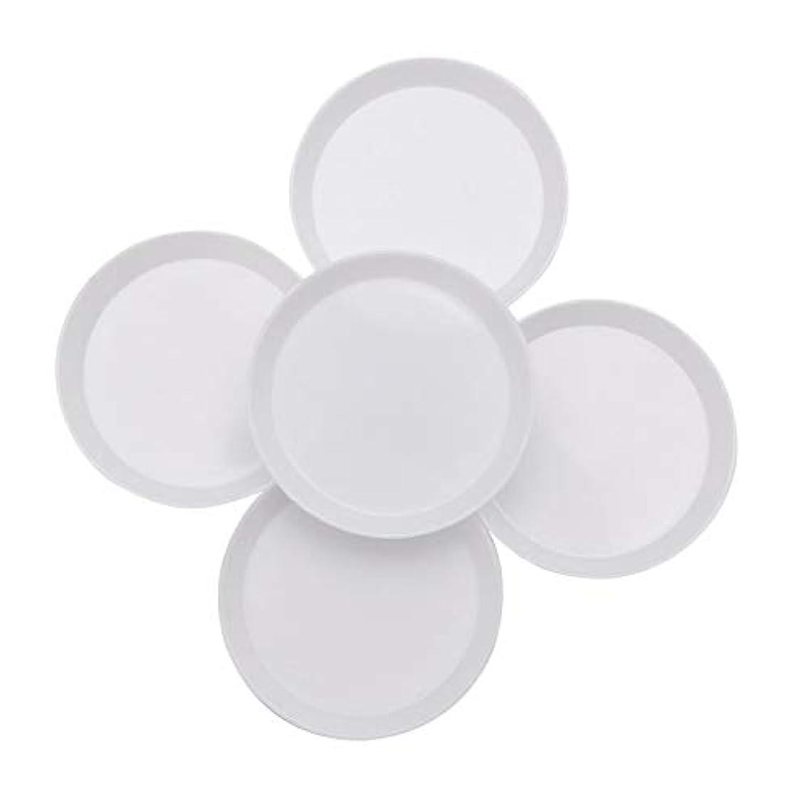 さわやか壁紙孤独YANGYL プラスチックの丸いラインストーンビーズクリスタルネイルアート10Pcsトレイホワイトを選別