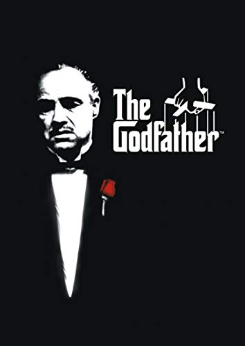 Poster Affiche The Godfather Vintage Cult Movie