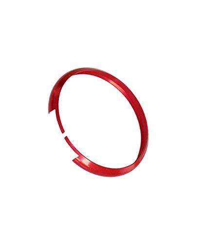 1neiSmartech Anello Decorativo Cover Ring Compatibile con Mini Cooper One D S Countryman In Alluminio per Guscio Scocca Telecomando Chiave