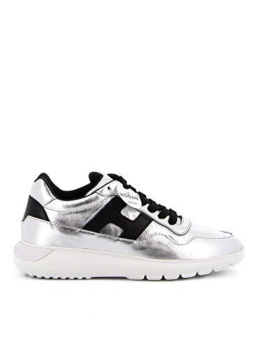 Hogan Sneakers Interactive 3 Nere E Color Argento HXW3710AP20OXG0ZHC Donna 39