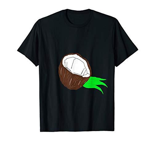 Kokosnuss Coconut Kokos Nuss Früchte Kokosnüsse Aloha TShirt