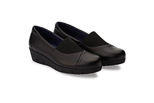 Oneflex Marie Negro - Zapatos anatómicos Profesionales cómodos para Mujer- Talla 39