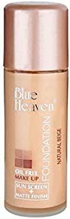 blue heaven waterproof foundation