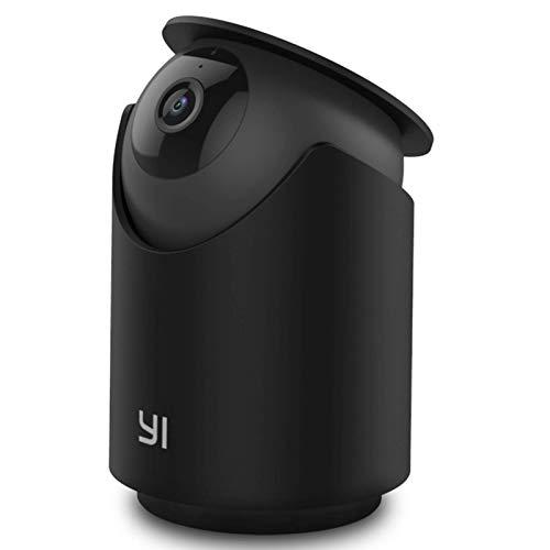 Videocamera Sorveglianza Interno WIFI 2K 3MP ,YI Dome U Pro Telecamera di Sicurezza Pan-Tilt Intelligenza Artificiale,Rilevamento Facciale/Umano/Sonoro/Movimento,Visione Notturna,Audio Bidirezionale
