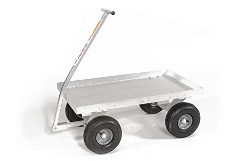Little Hercules-Massive Power in a Lightweight Compact Package! Aluminum Pull Wagon-Made in USA!