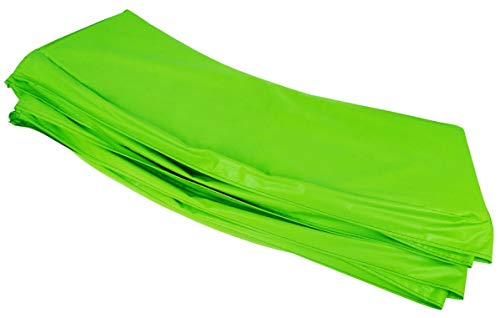 BSD Replacement Trampoline Surround Pad - Spring Cover Padding - 16FT - Green