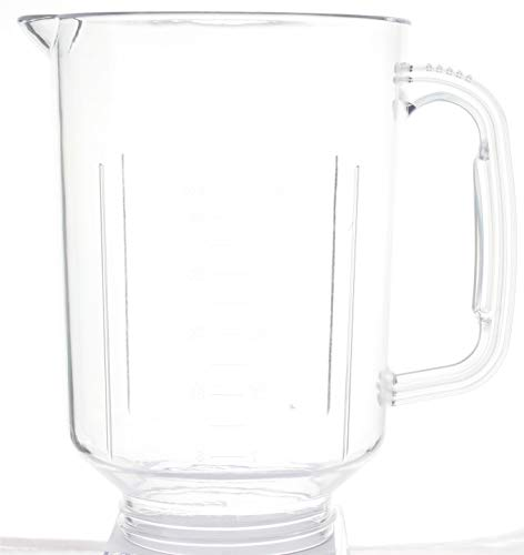 Vervangende plastic pot (kom, kan, beker) voor KitchenAid KSB5 en KSB52 blenders (vervangt glas KSBGGC 9704200) 6778013