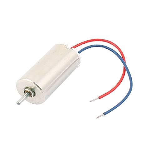 New Lon0167 DC 1.5-4.5V 40000RPM Cilindro sin núcleo de 2 cables para helicóptero RC(DC 1,5-4,5 V 40000 RPM 2-Wired Zylinder Coreless Motor für RC Hubschrauber