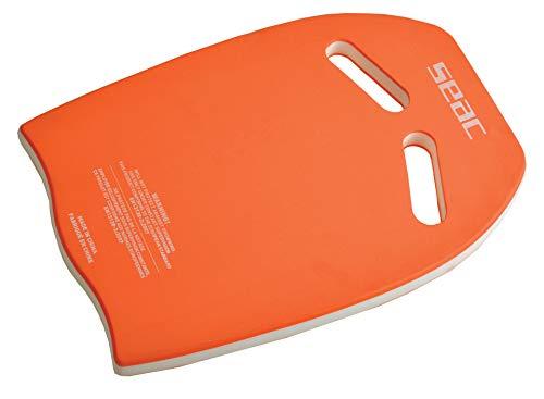 SEAC Kickboard, Tavoletta Galleggiante da Nuoto per Esercizi in Piscina e Mare Unisex Adulto, Arancione, Taglia Unica
