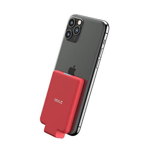 OISLE Cargador portátil inalámbrica 4500mAh Power Bank para iPhone 11 / 11Pro / 11pro MAX, X/XS/XR/XS MAX, 7 + / 8 +