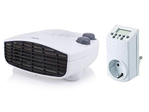 Liggende Tristar ventilatorkachel met timer, thermostaat en ventilator, gangverwarming