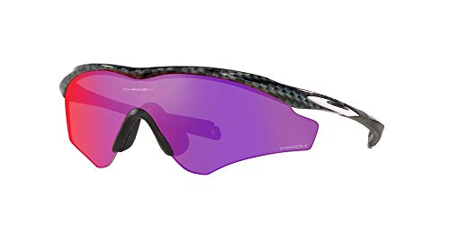 Product Image 2: Oakley Men's OO9345 M2 Frame XL Asian Fit Rectangular Sunglasses, Carbon Fiber/Prizm Road, 45mm