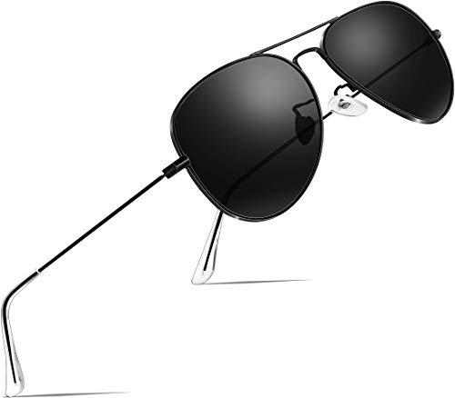 ATTCL Unisex Classic Driving Polarisiert Sonnenbrille 3026-black