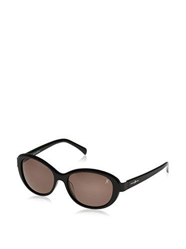 Guess Damen Sonnenbrille GM0667, Gr. Medium, Schwarz (Schwarz C26)