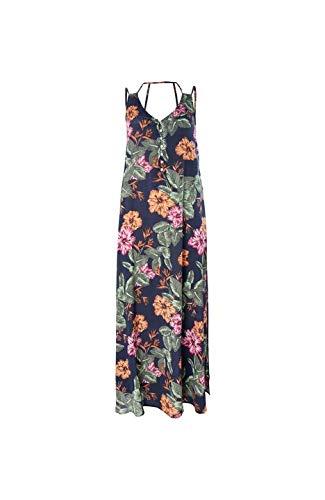 O'NEILL LW Belinda AOP Robe Longue pour Femme Multicolore Taille M