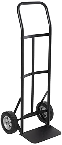 Safco Products Tuff Truck Continuous Handle Hand Truck , 400 lbs. Capacity, Continuous Flow Back Handle