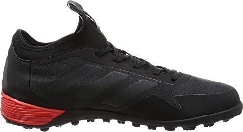 adidas Ace Tango 17.2 Tf, Botas De Fútbol para Hombre, Negro (Core Black / Dark Grey / Red), 47 EU