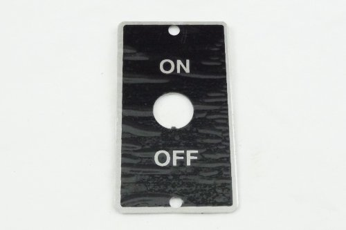 Fantastic Deal! NEW ORIGINAL ATLAS CRAFTSMAN 10 12 METAL LATHE ON OFF MOTOR SWITCH PLATE PART 41-4...