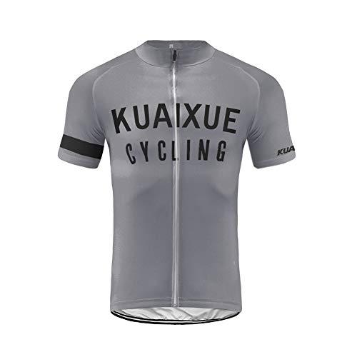 Uglyfrog Camisa de Ciclismo para Hombre de Manga Corta Respirable para Hombre Camisa de Ciclismo Tops de Ciclismo para Bicicleta DXML03
