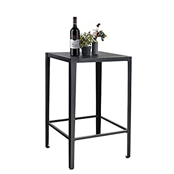 Best black high top table Reviews